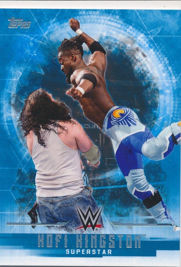 2017 WWE Undisputed Wrestling Cards (Topps) Kofi Kingston (No.21)