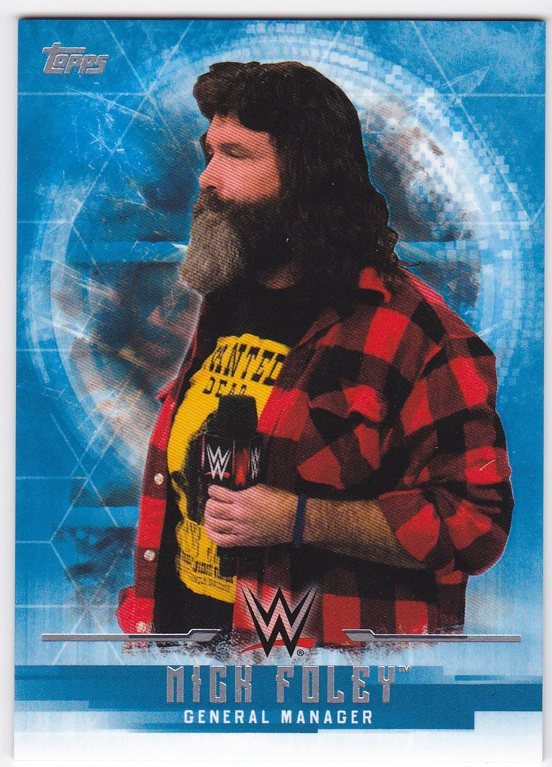 2017 WWE Undisputed Wrestling Cards (Topps) Mick Foley (No.24)
