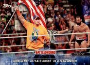 2018 WWE Road to Wrestlemania Trading Cards (Topps) John Cena 96