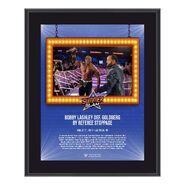Bobby Lashley SummerSlam 2021 10x13 Commemorative Plaque