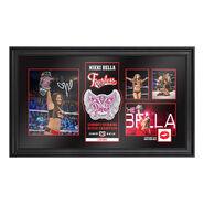 Nikki Bella Longest Reigning Divas Champion Signed Commemorative Plaque