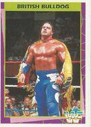 1995 WWF Wrestling Trading Cards (Merlin) British Bulldog 56