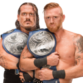 1 WWE Smackdown Tag Team Champions Heath Slater & Rhyno