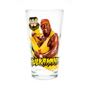 Hulk Hogan Toon Tumbler Pint Glass