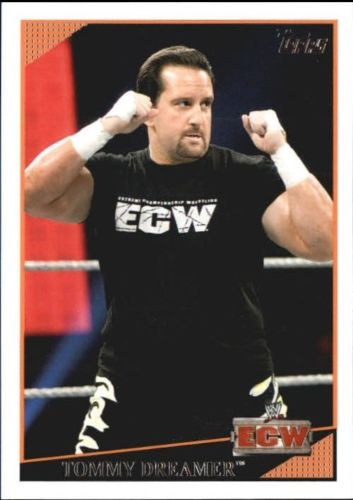 2009 WWE (Topps) Tommy Dreamer (No.9)