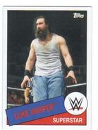 2015 WWE Heritage Wrestling Cards (Topps) Luke Harper 78