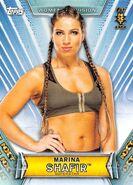 2019 WWE Women's Division (Topps) Marina Shafir 43