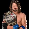 AJ Styles WWE Championship v2