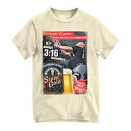 Stone Cold Steve Austin It's Always 3-16 Somewhere 25th Anniversary T-Shirt