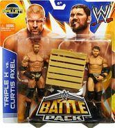 WWE Battle Packs 26 Curtis Axel & Triple H