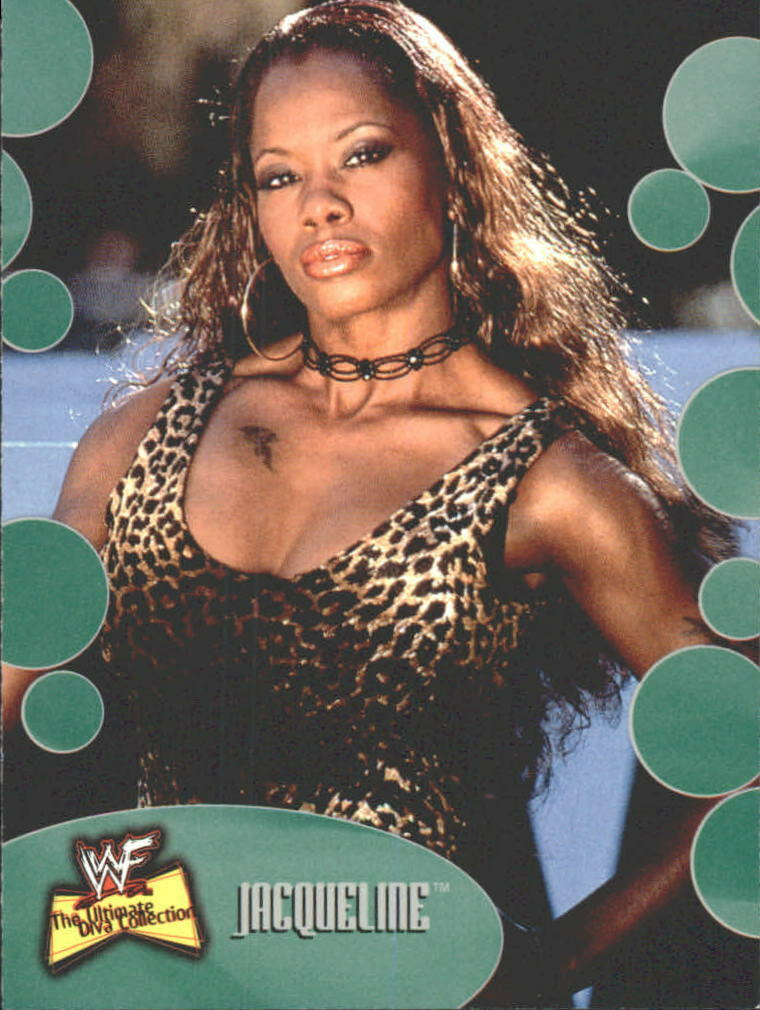 2001 WWF The Ultimate Diva Collection (Fleer) Jacqueline (No.25)