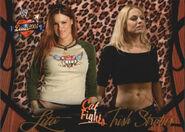 2004 WWE Divas 2005 (Fleer) Lita & Trish Stratus 60