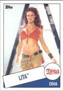 2015 WWE Heritage Wrestling Cards (Topps) Lita 52