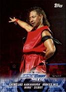 2018 WWE Road to Wrestlemania Trading Cards (Topps) Shinsuke Nakamura 83