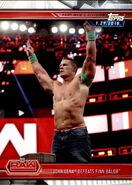 2019 WWE Road to WrestleMania Trading Cards (Topps) John Cena 24