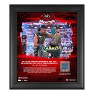 Rey Mysterio & Dominik Mysterio WrestleMania Backlash 2021 15x17 Commemorative Plaque