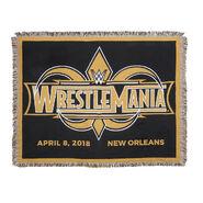 WrestleMania 34 Tapestry Blanket