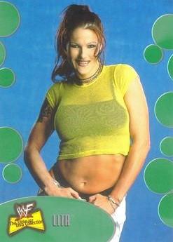 2001 WWF The Ultimate Diva Collection (Fleer) Lita (No.19)