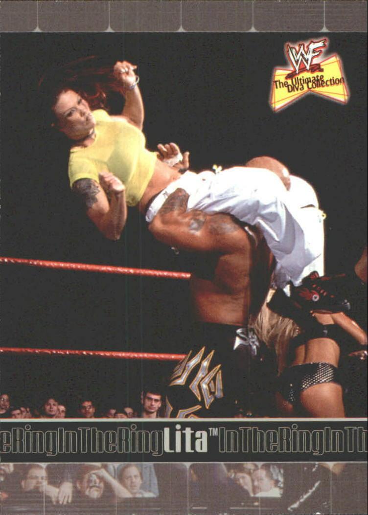 2001 WWF The Ultimate Diva Collection (Fleer) Lita (No.68)