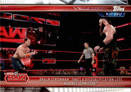 2019 WWE Road to WrestleMania Trading Cards (Topps) Braun Strowman 2