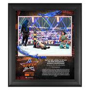 Bayley SummerSlam 2020 15x17 Commemorative Plaque