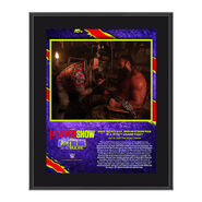 Bray Wyatt The Horror Show At Extreme Rules 2020 10x13 Commemorative Plaque