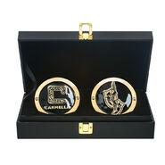 Carmella Championship Replica Side Plate Box Set