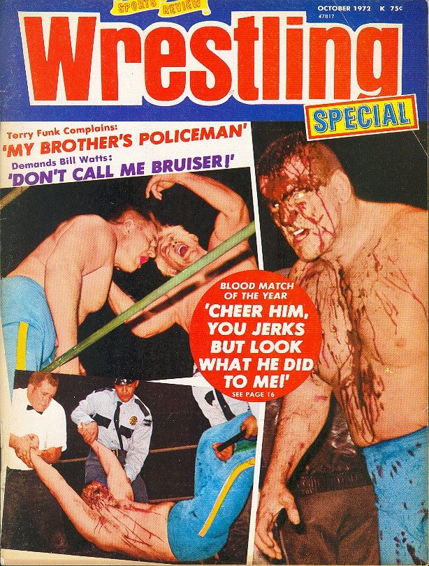 Sports Review Wrestling - October 1972