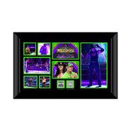 Undertaker WrestleMania 34 Commemorative Plaque