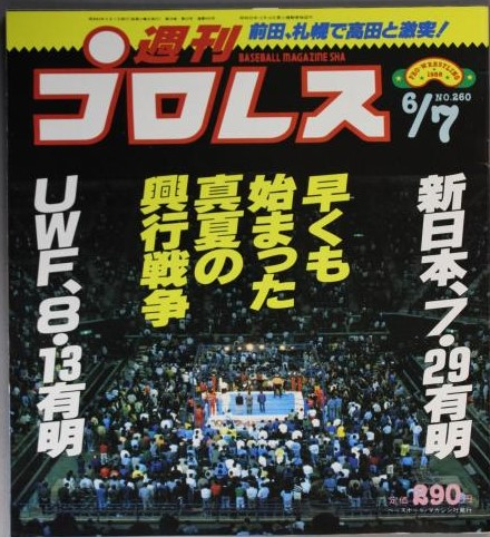 Weekly Pro Wrestling No. 260