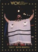 1991 WCW Collectible Trading Cards (Championship Marketing) Dirty Dutch Mantell 34