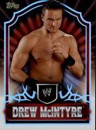 2011 Topps WWE Classic Wrestling Drew McIntyre 18