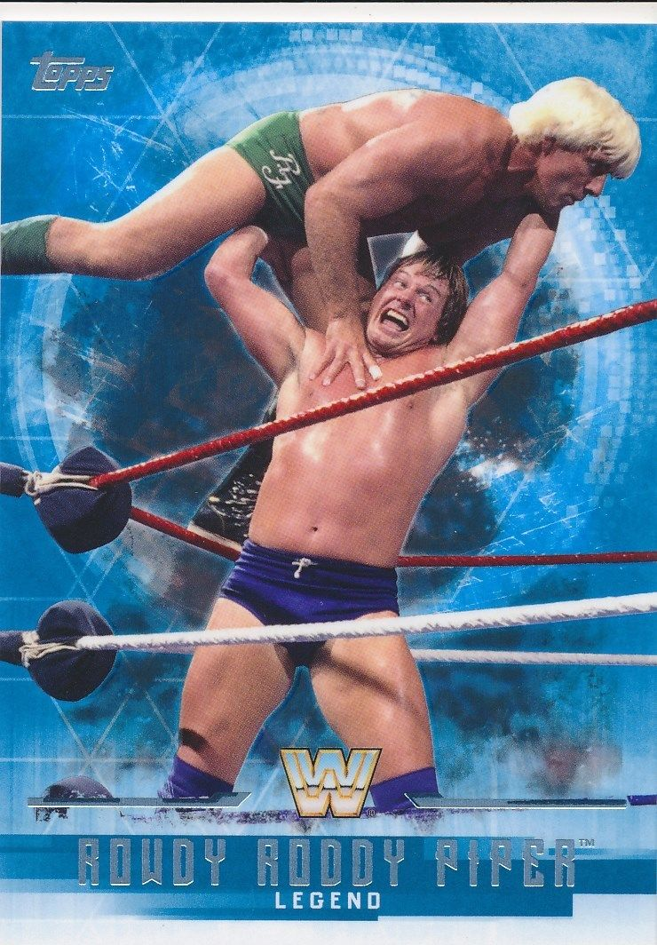 2017 WWE Undisputed Wrestling Cards (Topps) Rowdy Roddy Piper (No.66)