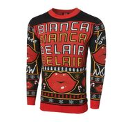 Bianca Belair Ugly Holiday 2021 Knit Sweater