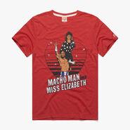 Macho Man Randy Savage & Miss Elizabeth Homage T-Shirt