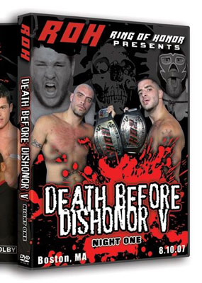 ROH Death before Dishonor V (Night One)