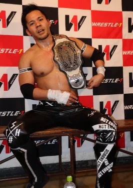 Wrestle-1 Cruiserweight Championship/Champion gallery