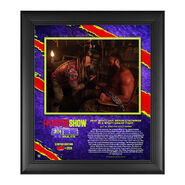 Bray Wyatt The Horror Show At Extreme Rules 2020 15x17 Commemorative Limited Edition Plaque