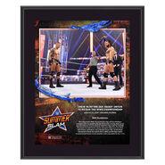 Drew McIntyre SummerSlam 2020 10x13 Commemorative Plaque