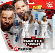 WWE Battle Packs 64 The Usos