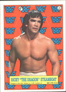 1987 WWF Wrestling Cards (Topps) Sticker Ricky Steamboat 15