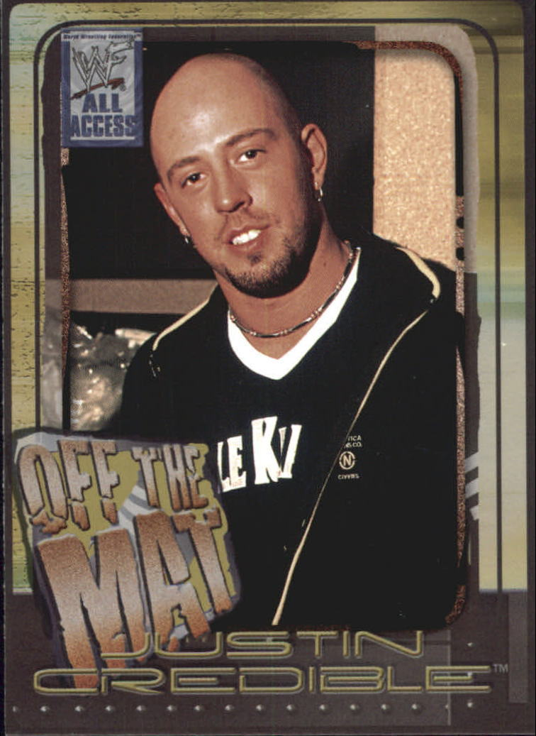 2002 WWF All Access (Fleer) Justin Credible (No.54)
