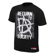 Dean Ambrose Return to Society Youth Authentic T-Shirt