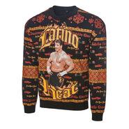 Eddie Guerrero Light Up Ugly Holiday Sweatshirt 2019