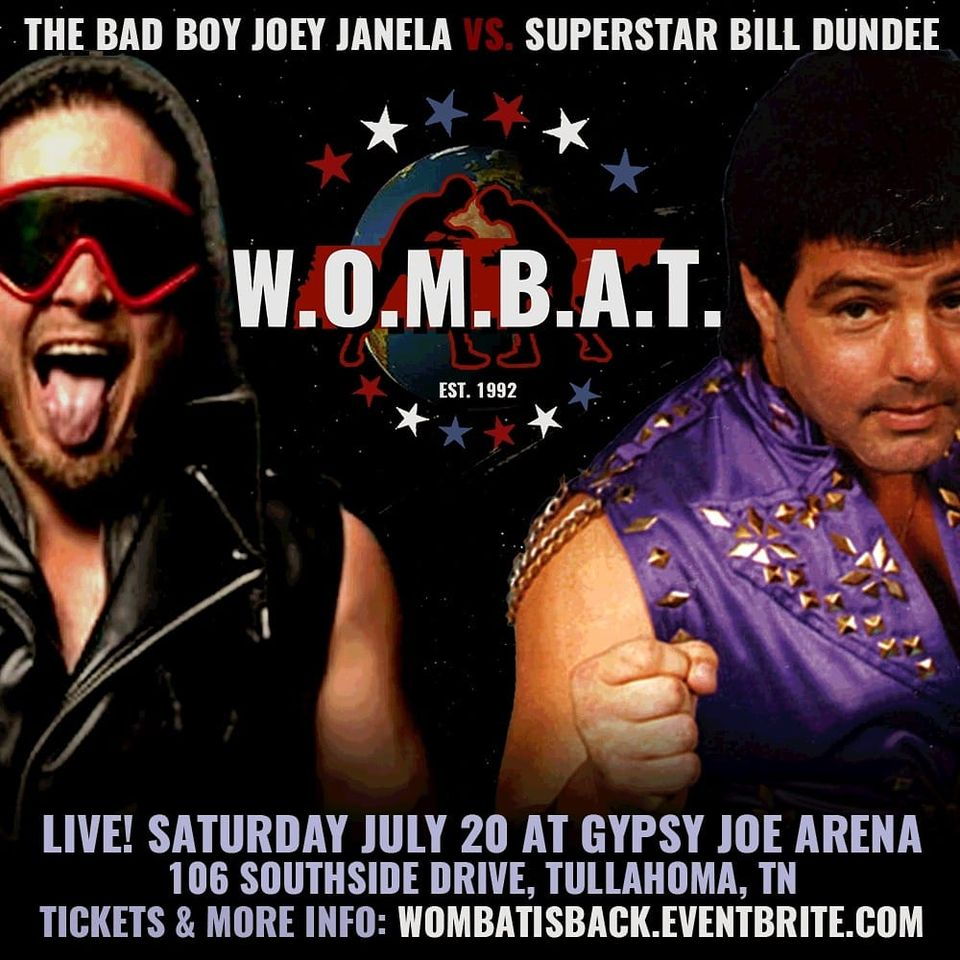 GCW The Invisible Man Presents WOMBAT