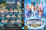 WWE Wrestlemania XXVII - Cover