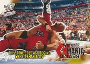 2001 WWF WrestleMania (Fleer) The Stone Cold Age Begins 97