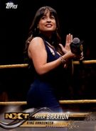 2018 WWE Wrestling Cards (Topps) Kayla Braxton 46