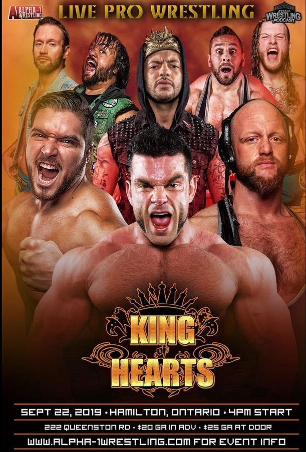 A1 King Of Hearts 2019