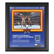 RK-Bro SummerSlam 2021 15x17 Commemorative Plaque